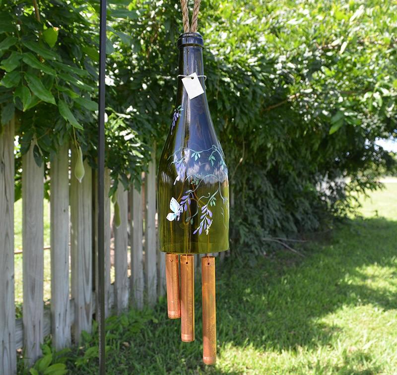 Поделки для сада своими руками из стеклянных бутылок